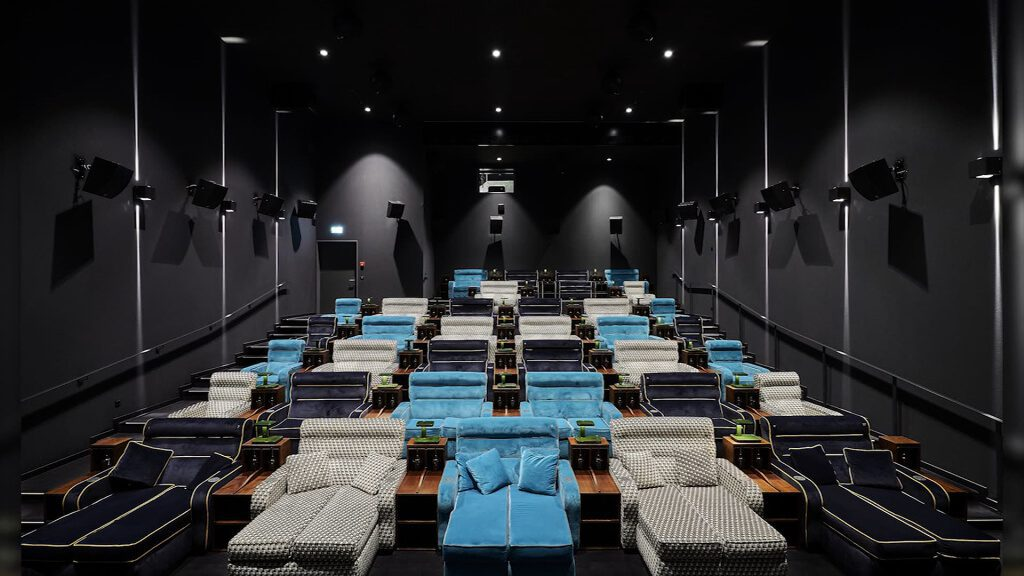 Post Photo for Movie theater with beds opens in Switzerland
