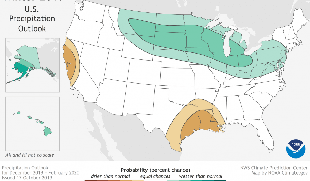 Post Photo for Winter Outlook From The National Weather Service