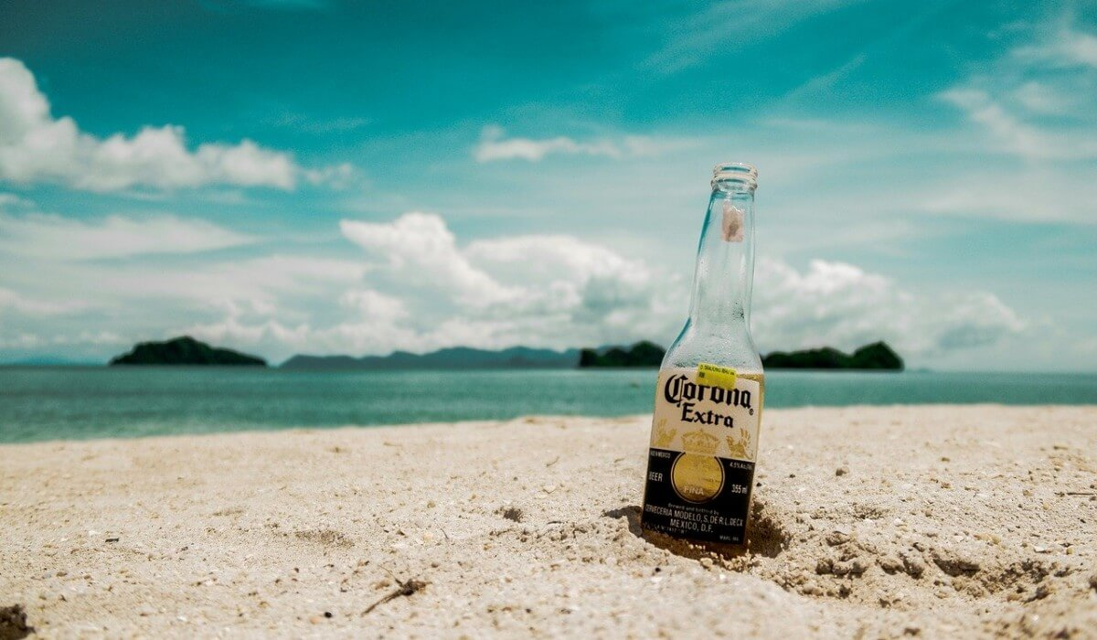 Post Photo for You Don't Get The Coronavirus From Drinking….Corona Beer