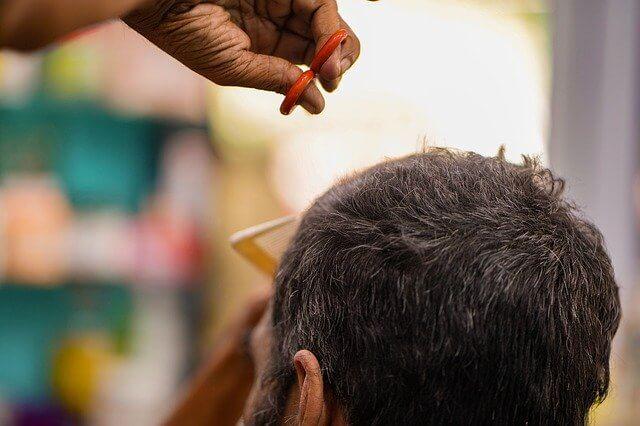 Post Photo for Men Cutting Their Own Hair