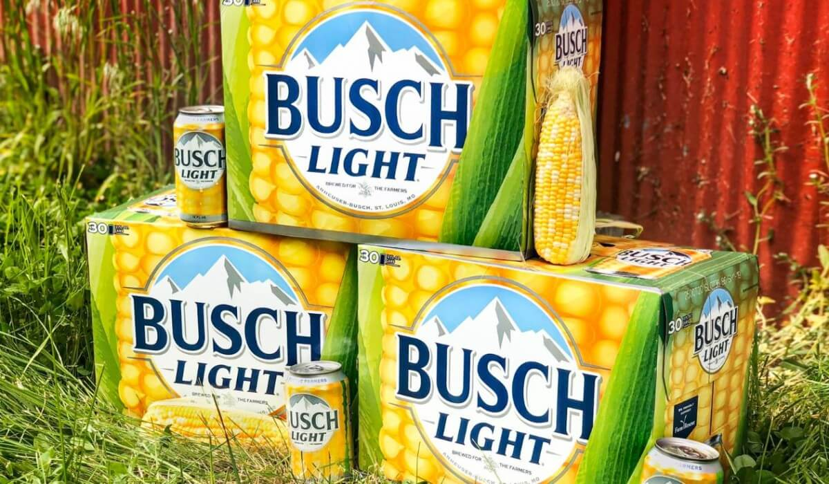 Post Photo for Busch Beer Corn Cans