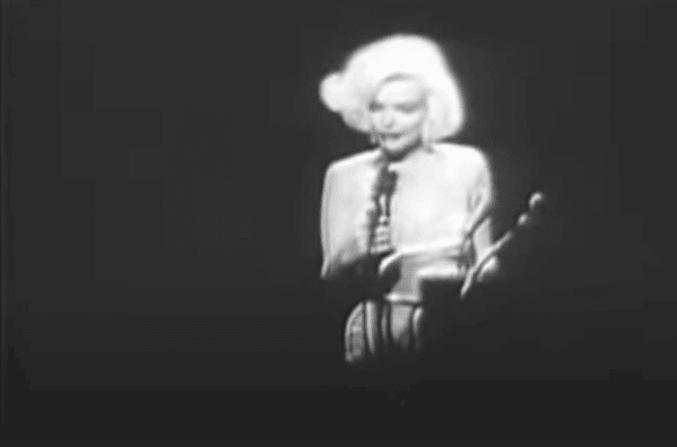 Post Photo for Marilyn Monroe Sings Happy Birthday to JFK