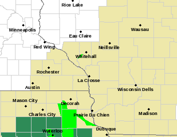 Post Photo for Flood Warnings For Northeast Iowa