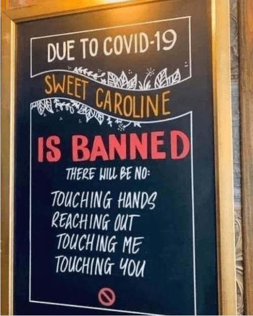 Post Photo for Bar in Spain bans Sweet Caroline