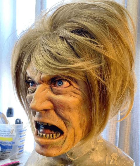 Post Photo for Halloween Karen Mask