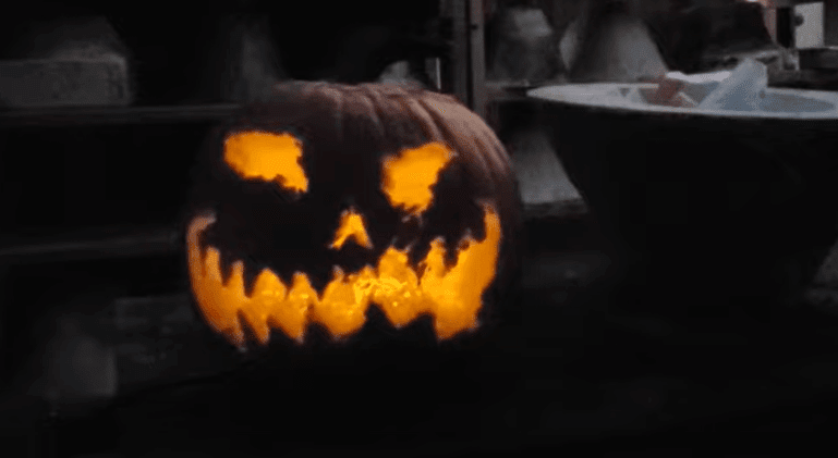 Post Photo for Guy uses power washer to carve pumpkin