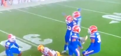 Post Photo for Florida Blew Its Game Because a Player Threw a Shoe