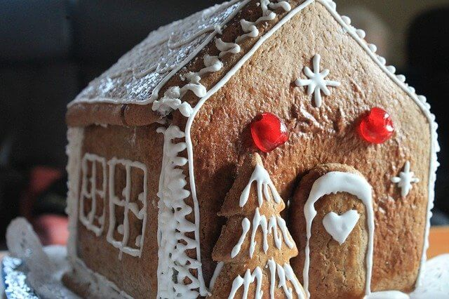 Post Photo for Gingerbread Home Alone House