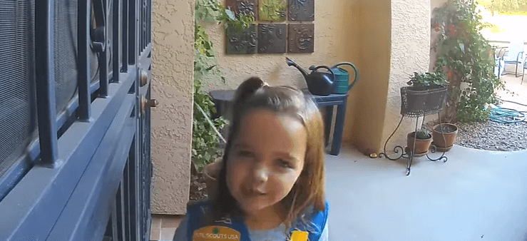 Post Photo for An Adorable Girl Scout Cookie Sales Pitch