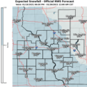 Light Snow Expected Tuesday