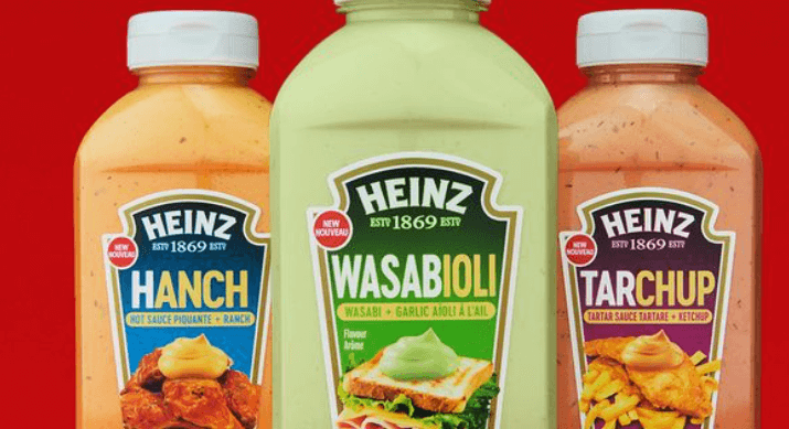 Post Photo for Heinz Has Gone Crazy with New Mashups: Hanch, Wasabioli, and Tarchup