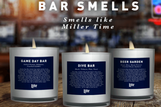 Post Photo for Miller Lite Beer Candles