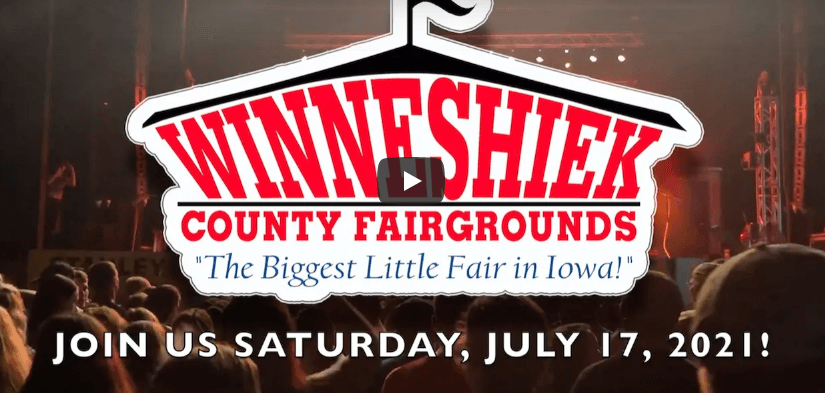 Post Photo for Winneshiek County Fair Announces Saturday Entertainment
