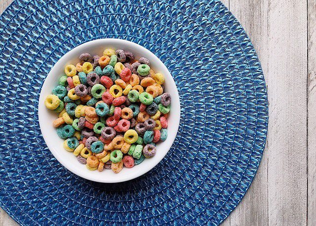 Post Photo for New Fruit Loops Breakfast Pizza