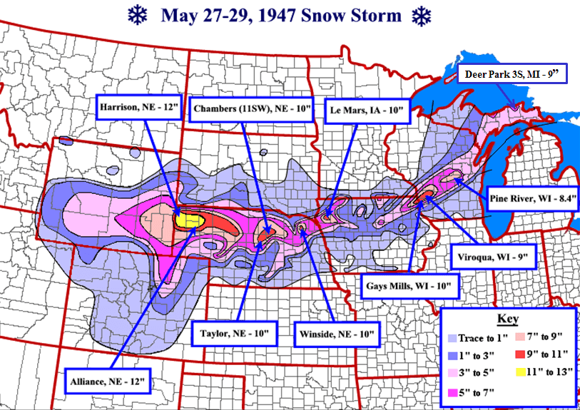 Post Photo for Late May Snow Storm of 1947