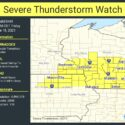 Severe Thunderstorm Watch Now In Effect Until 4am Friday