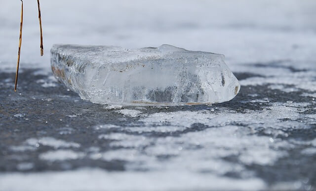 Post Photo for Mystery Ice Crashes Through Wisconsin Roof