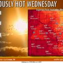 Heat Advisory in Effect For Wednesday