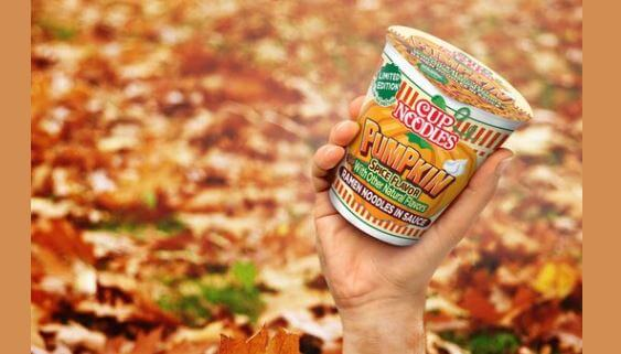 Post Photo for Cup Noodles Pumpkin Spice Coming