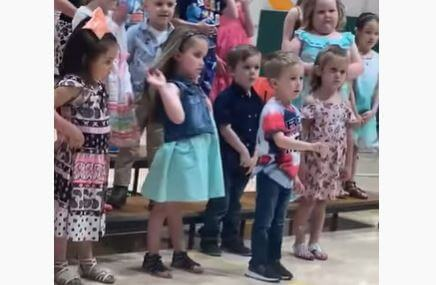 Post Photo for This Pre-Schooler Does an Awesome National Anthem