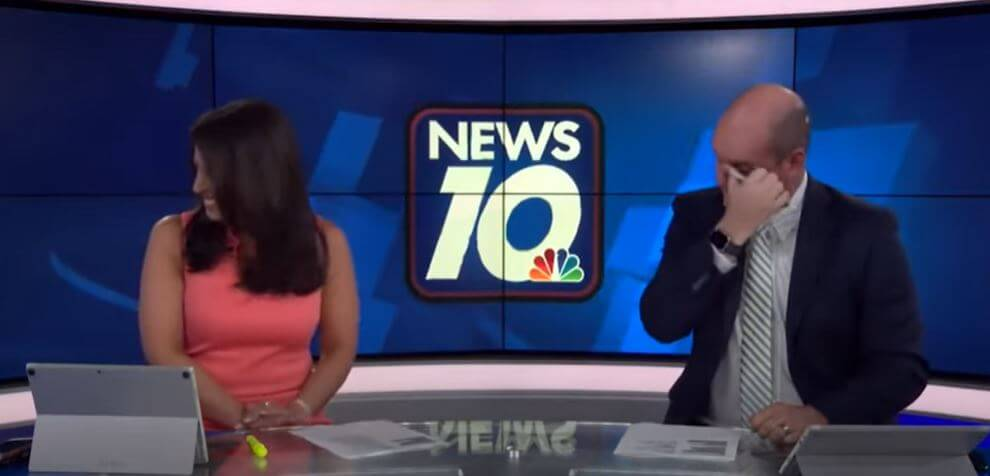 Post Photo for Best News & Weather Bloopers of August