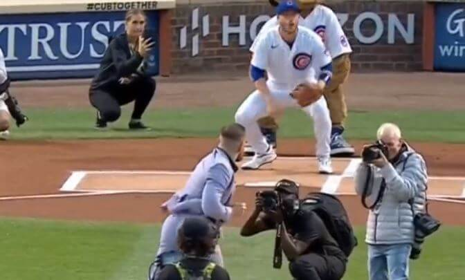 Post Photo for Worst First Pitch Ever???