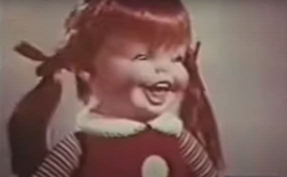 Post Photo for Way Back Wednesday- Is This the Creepiest Doll Commercial Ever?